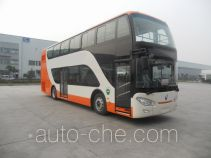 Plug-in hybrid double decker city bus