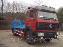 Sanji JSJ5162ZBG tank transport truck