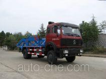 Sanji JSJ5163ZBG tank transport truck