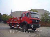 Sanji JSJ5167ZBG tank transport truck