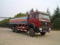 Sanji JSJ5250GHY chemical liquid tank truck