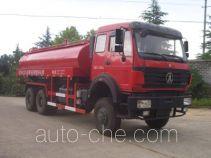 Sanji JSJ5252TGY oilfield fluids tank truck