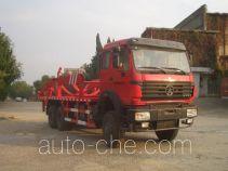 Sanji JSJ5253ZBG tank transport truck
