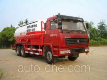 Sanji JSJ5252GXH pneumatic discharging bulk cement truck