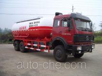 Sanji JSJ5256GXH3 pneumatic discharging bulk cement truck