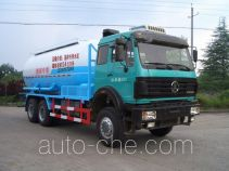 Sanji JSJ5257GXH3 pneumatic discharging bulk cement truck