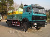 Sanji JSJ5259GXH pneumatic discharging bulk cement truck