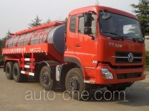 Fracturing fluid tank truck