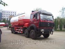 Sanji JSJ5311GXH pneumatic discharging bulk cement truck