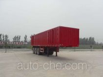 Qiang JTD9402XXY box body van trailer