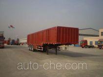 Qiang JTD9409XXY box body van trailer