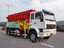 奇特牌JTZ5160THB型混凝土泵车