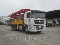 奇特牌JTZ5290THB型混凝土泵车