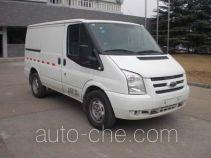 JMC Ford Transit JX5030XXYTDA-L4 box van truck