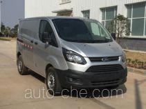JMC Ford Transit JX5033XXYPDB-L5 box van truck