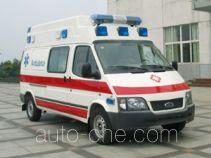 江铃全顺牌JX5034XJHZCB型救护车