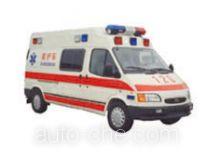 JMC Ford Transit JX5035XJHLB-M ambulance