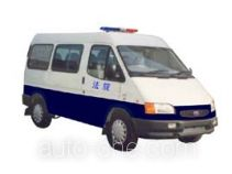 JMC Ford Transit JX5035XQC-M prisoner transport vehicle