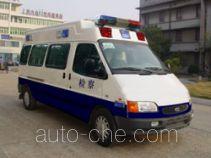 JMC Ford Transit JX5035XQCLB-M prisoner transport vehicle
