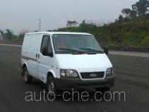 JMC Ford Transit JX5040XXYTC-L4 box van truck