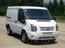 JMC Ford Transit JX5040XXYTDA-L5 box van truck