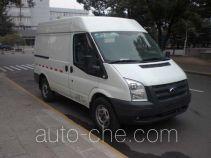 JMC Ford Transit JX5040XXYTD-M4 box van truck