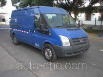 JMC Ford Transit JX5030XXYTJ-M4 box van truck