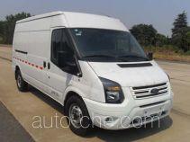 JMC Ford Transit JX5040XXYTJ-M5 box van truck