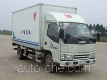 JMC JX5043XBWXG2 insulated box van truck