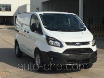 JMC Ford Transit JX5033XXYPD-L5 box van truck
