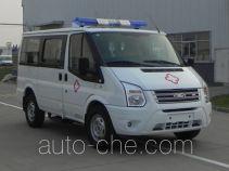 江铃全顺牌JX5049XJHMA4型救护车