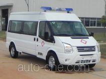 江铃全顺牌JX5049XJHMK型救护车