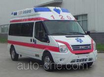 江铃全顺牌JX5049XJHMKA型救护车