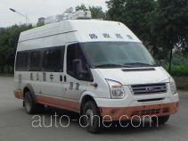 JMC Ford Transit JX5049XLZML2 автомобиль муниципальной дорожной администрации