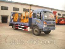 吉平雄风牌JXF5169TPB型平板运输车