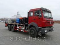 Hot oil (water) dewaxing truck
