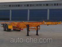 Yindun JYC9350TJZ container transport trailer