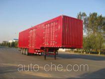 Yindun JYC9401XXY box body van trailer