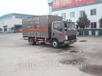 Luye JYJ5047XRQE flammable gas transport van truck