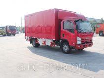Luye JYJ5100XXYD box van truck