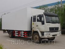 Luye JYJ5120XBW insulated box van truck