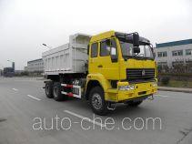 Sand transport dump truck