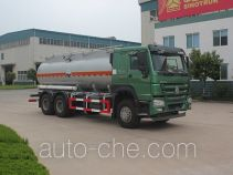 Luye JYJ5257GFWD corrosive substance transport tank truck