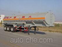 Luye JYJ9350GHY chemical liquid tank trailer