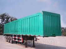 Luquan JZQ9401XXY box body van trailer