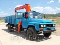 Jinzhong JZX5091JSQ truck mounted loader crane