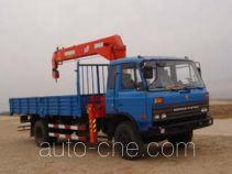 Jinzhong JZX5120JSQ truck mounted loader crane