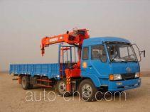 Jinzhong JZX5170JSQ truck mounted loader crane