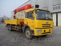 Jinzhong JZX5252JSQ truck mounted loader crane