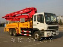 凯帆牌KFM5290THB37型混凝土泵车